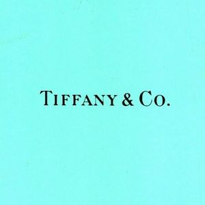 Authentic Tiffany & Co. Small Gift Bag